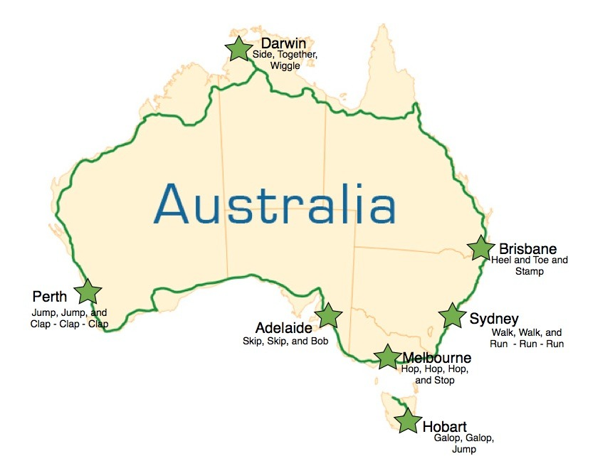 Map Of Australia Highways.The Last Section Of Highway One Around Australia Is Sealed Twisted
