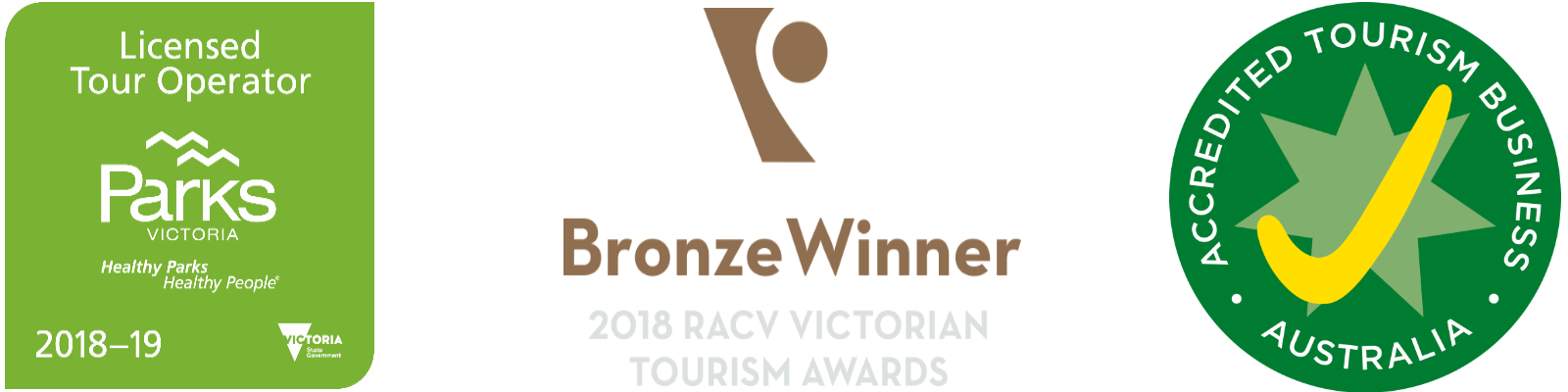 Award Winning Accredited Tourism Business